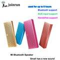 Os Recém-chegados Xiaomi Bluetooth Speaker Estéreo Portátil Sem Fio Mini Bluetooth 4.0 Quadrado Caixa de Alto-falantes Para Computador Do Telefone Móvel