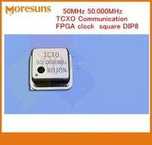 5 CÁI 50 MHz 20 MHz 25 MHz 48 MHz 52 MHz 60 MHz 65 MHz 80 MHz 100 MHz 0.1ppm tinh thể dao động TCXO Thông Tin Liên Lạc FPGA hồ vuông đồng hồ DIP8