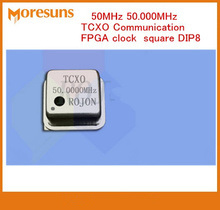 5PCS 50MHz 20MHz 25MHz 48MHz 52MHz 60MHz 65MHz 80MHz 100MHz 0.1ppm crystal oscillator TCXO Communication FPGA clock square DIP8