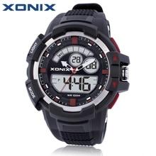 ¡ Caliente! xonix hombres Relojes deportivos impermeable 100 M Reloj análogo-Digital Correr Natación buceo reloj hombre montre Homme W