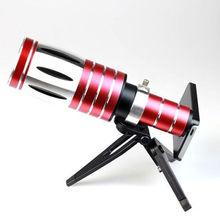 High-Quality Mobile Phone Aluminum 50x Zoom Telescope Camera Lens