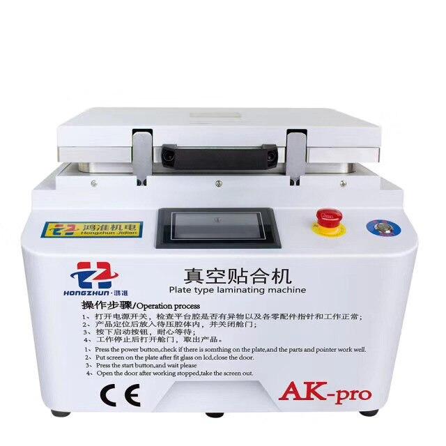 NUOVO AK PRO iPhone macchina di riparazione oca laminatore A Vuoto laminazione macchina di riparazione lcd macchina refurbish oca macchina plastificatrice