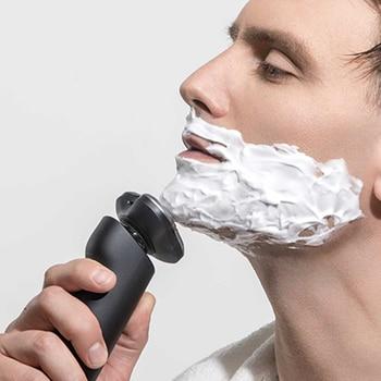 Xiaomi Electric Shaver Mijia Razor Shaving beard Machine for Men Dry Wet Beard Trimmer Rechargeable washable 3D head Dual Blades