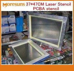 Plantilla a láser PCB PCBA SMT de 37*47CM con marco y sin marco PCB PCBA plantilla hecha de acero inoxidable