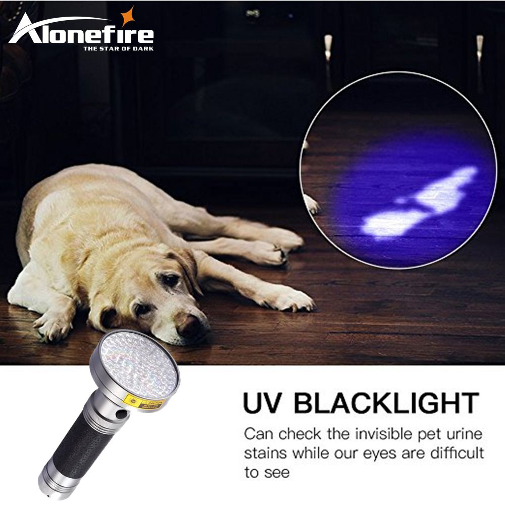 AloneFire 18W ultravioleta UV luz LED 395-400nm Linterna antorcha - Iluminación portatil - foto 2