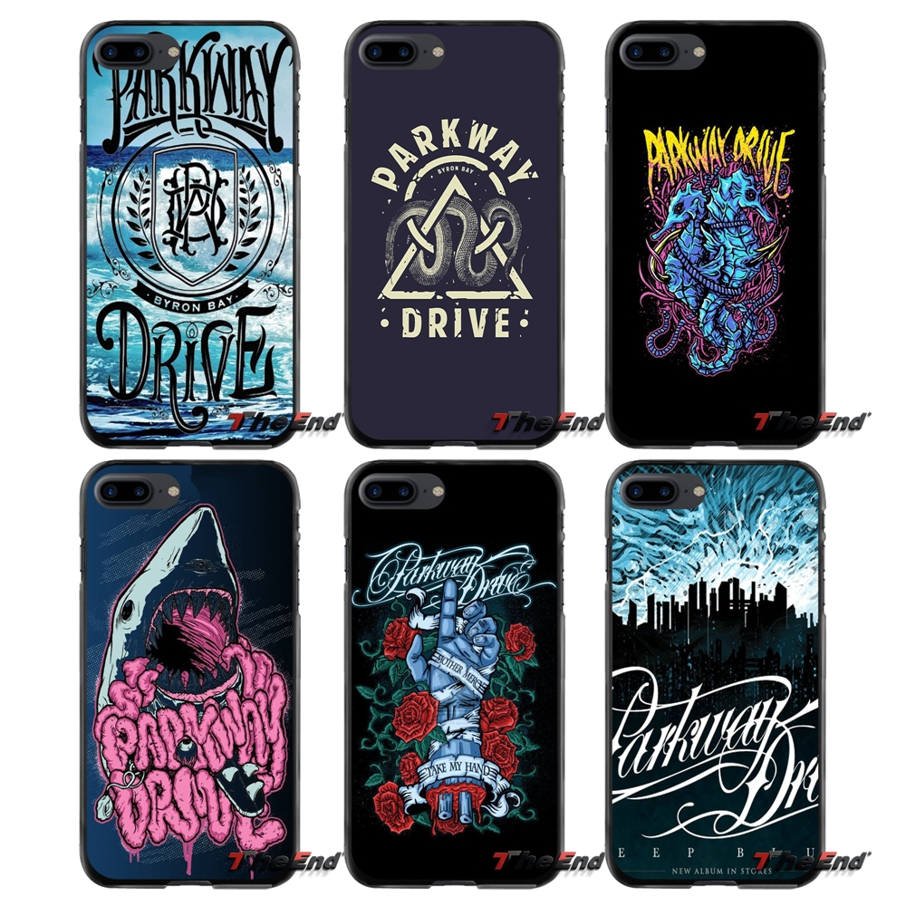 Accessories Phone Cases Covers cool Parkway Drive For Apple iPhone 4 4S 5 5S 5C SE 6 6S 7 8 Plus X iPod Touch 4 5 6