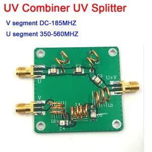 Image 1 - dykb UV RF signal Combiner UV Splitter UV Splitter LC Filter High Frequency Combiner RF Antenna Combiner U 350 560MHZ V DC 185MH