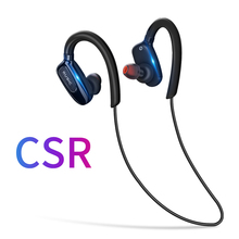 купить headphones bluetooth 4.1 wireless sports earphones running earbuds stereo headset IPX5-rated sweatproof  with MIC дешево