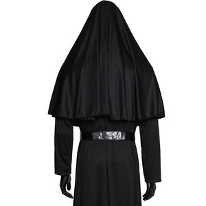 Image 4 - Movie The Nun Cosplay Valak Costume Virgin Mary Monja Deluxe Scary Costumes For Men Women Halloween Party