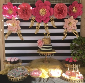Image 2 - Allenjoy photography background black and white stripes simple birthday wedding backdrop wallpapers photo studio photocall