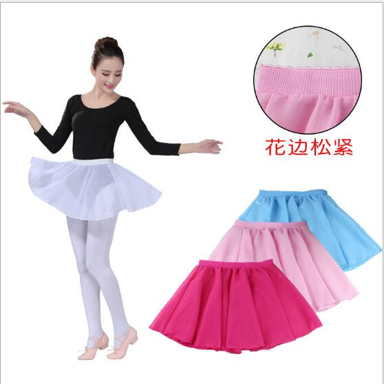 Adult Chiffon Ballet Leotard Skirt Dance Pull On Ballet Skirt Chiffon
