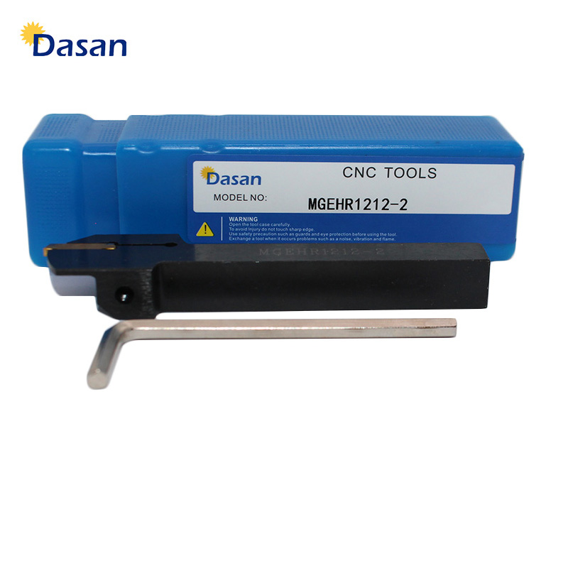 1pc MGEHR1010 MGEHR1212 MGEHR1616 MGEHR2020 Grooving And Parting Off Lathe Tool Cutter Holder 1.5mm 2mm 3mm 4mm For MGMN MRMN