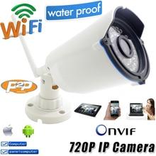 Ip Camera 720p wifi HD CCTV Security Waterproof Wireless P2P Weatherproof Outdoor Infrared Mini Onvif H.264 IR Night Vision CAM