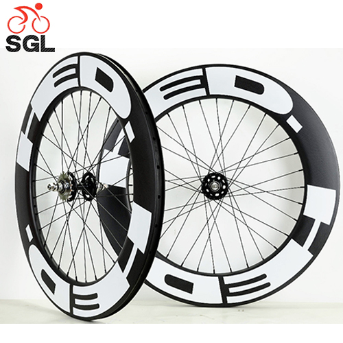 348305c2ffc 700C Carbon 88 wheel Chinese Carbon Track Bike wheel with Fixed Gear Hub  for Single Speed