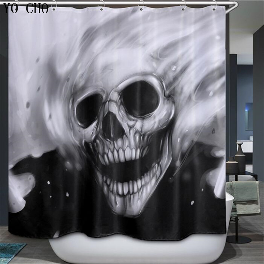 Halloween shower curtain - Halloween Shower Curtains