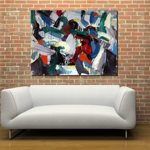 Jackson pollock Style Picture Wall Home Decor Living Room Modern Canvas oil Painting No Frame