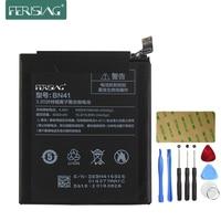Ferising 4000mAh BN41 Battery For XiaoMi RedMi Note 4 Hongmi Note4 Mobile Phone Replacement Mobile Phone