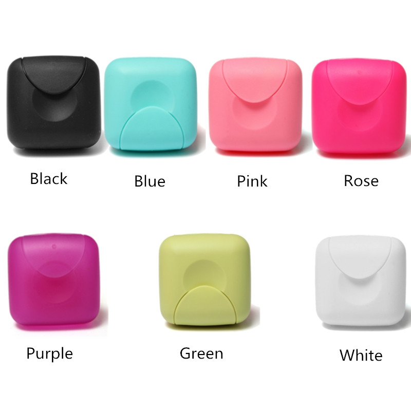 Square Bathroom Shower Soap Dish Box Waterproof Outdoor Travel Hiking Camping Soap Case Container Holder