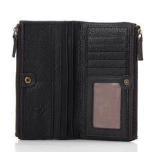 Brand Men's wallets Designer Cowhide Leather wallets Clutch Men handbag Wax oil skin purses card holder