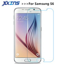 Tempered Glass For Samsung Galaxy S3 S4 S5 S6 Note 2 3 4 5 cover screen protective smartphone toughened case 9H on crystals thin