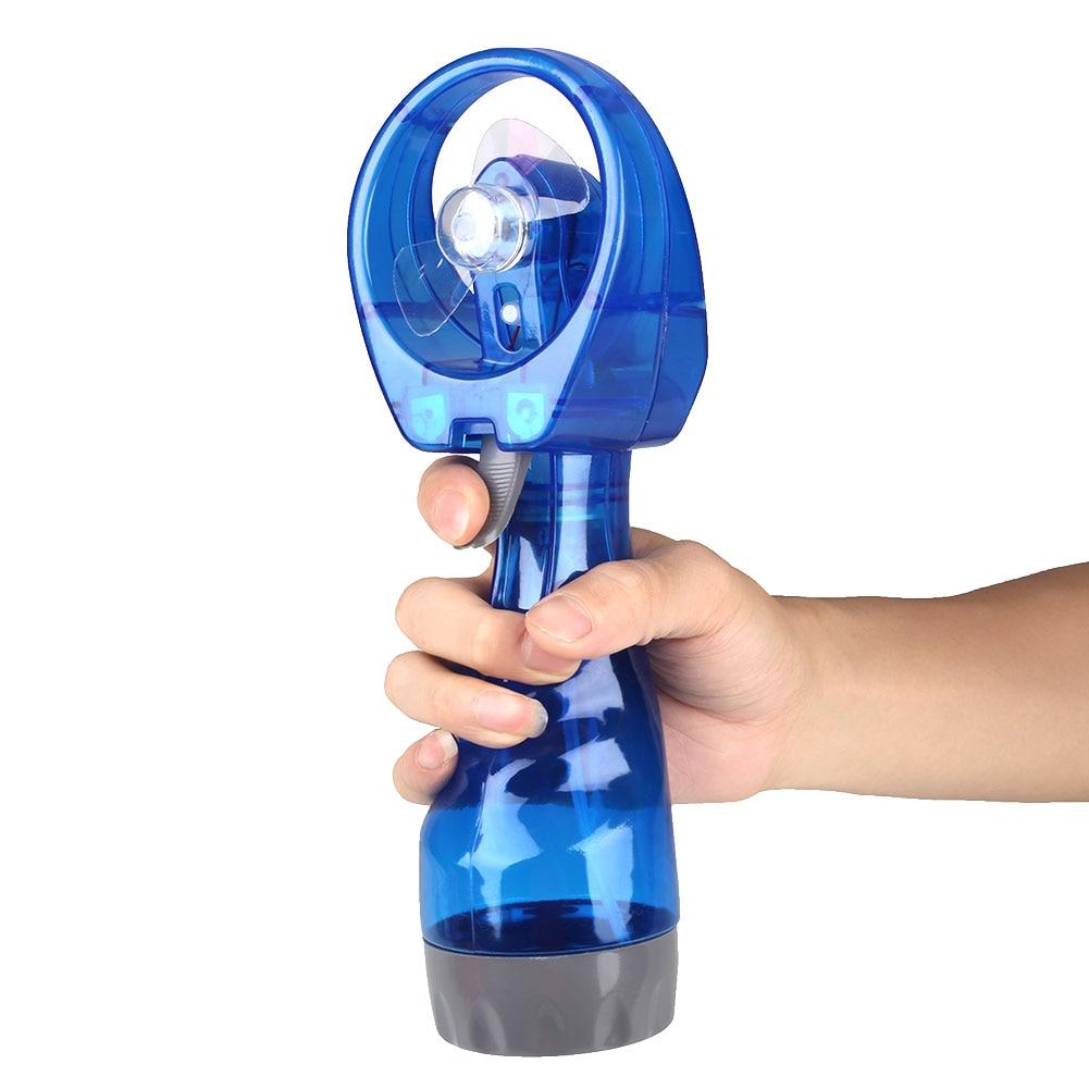 Mini Fan Fans Beach Summer Cooling Air Fan Travel Fan Handheld Mist Water Misting Water Spray Fan Handheld Fan Random Color