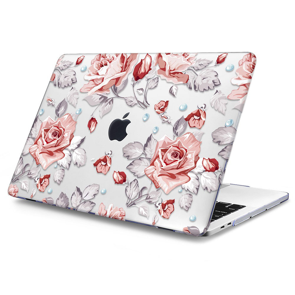 Floral Printing Hard Case for MacBook 126