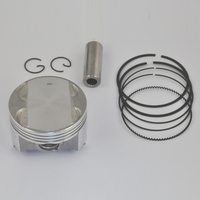 High Performance Motorcycle Piston Kit Rings Set For AN250 STD 25 50 Bore Size 73mm 73