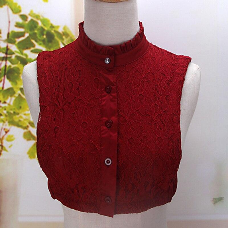 1pcs fashion shirt lace sweater Elegant False Collar wedding dress accessories26