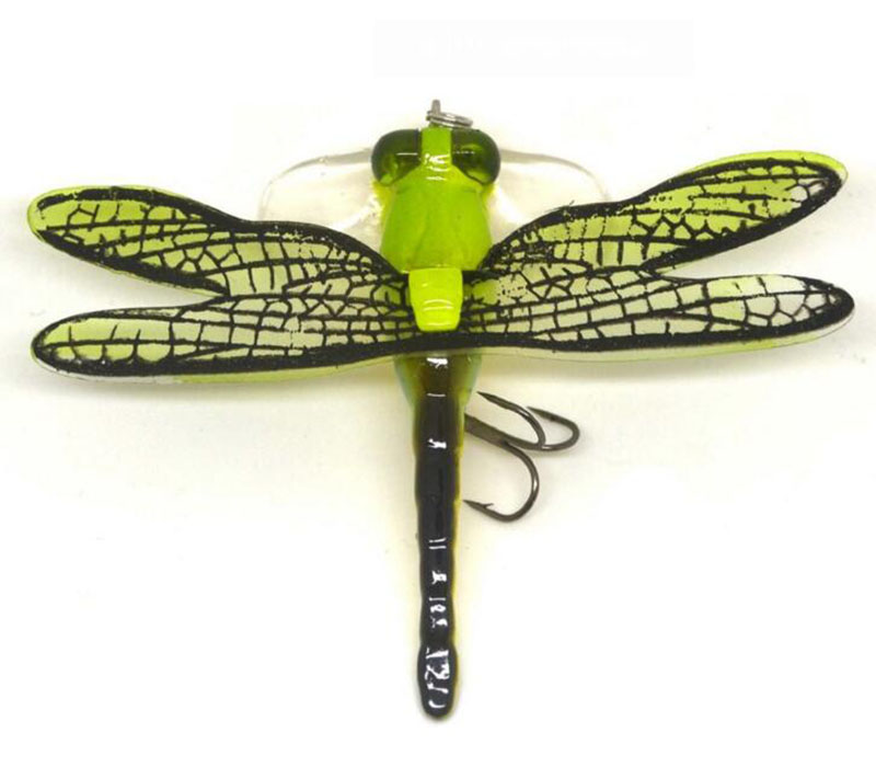 1 Pcs Dragonfly Shaped Bait 7cm Topwater Insect