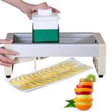 Регулировка Толщина 1-10 мм Еда измельчитель спиральная овощерезка Мощный Ручной v-ремень для кухонный нож кухонный инструмент