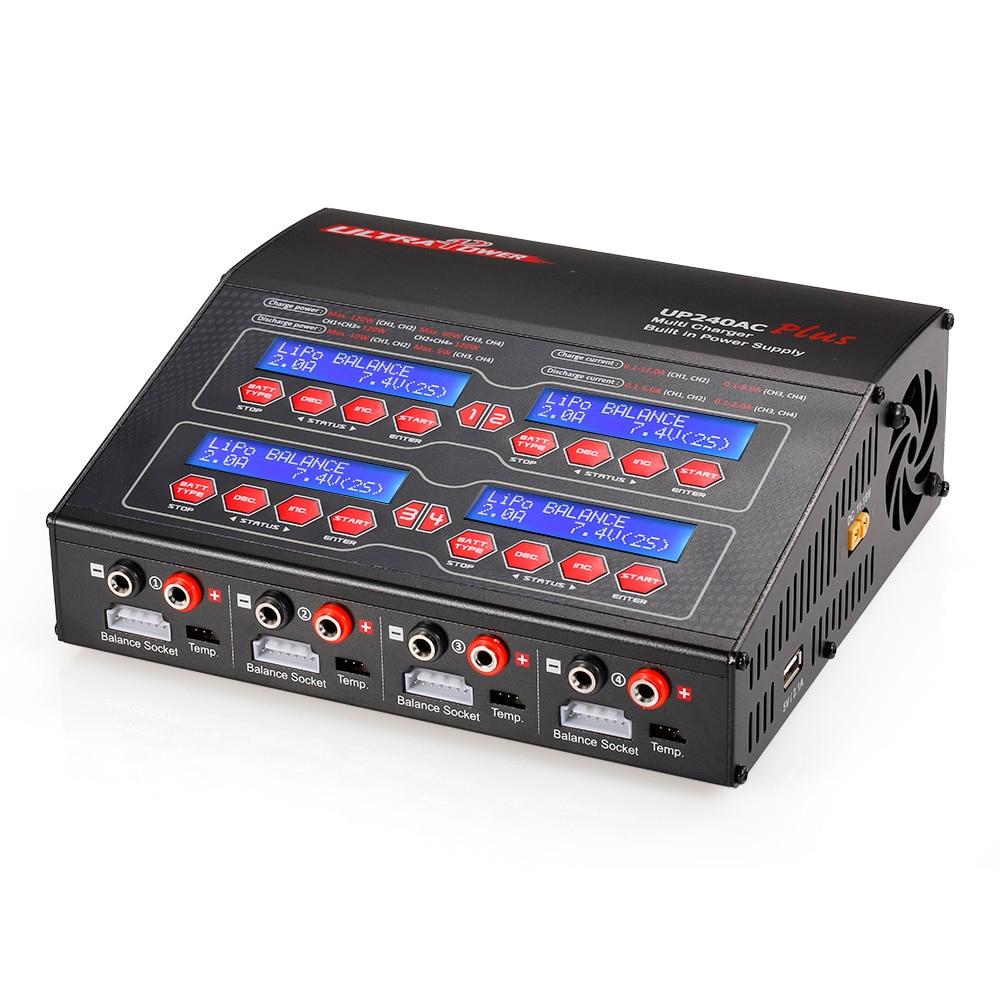 ยี่ห้อ Ultra Power UP240AC Plus 240 W Lilo LiPo LiFe NiMH NiCD Pb แบตเตอรี่ Multi Charger Discharger สำหรับ RC lipo แบตเตอรี่-ใน ชิ้นส่วนและอุปกรณ์เสริม จาก ของเล่นและงานอดิเรก บน   1