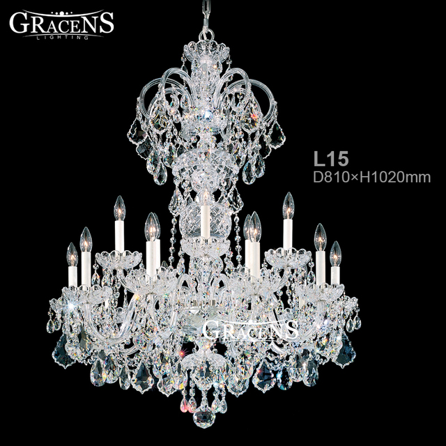 Wrought iron chandeliers crystal lightings fixture hand blown glass wrought iron chandeliers crystal lightings fixture hand blown glass lamp branches atmosphere lighting for hotel aloadofball Gallery