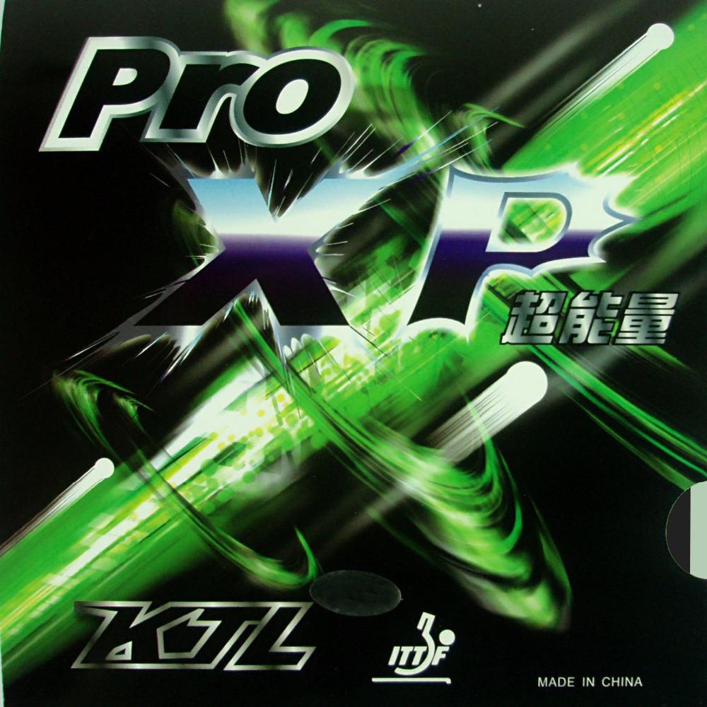 KTL Pro XP Pro-XP Pips-In Tafeltennis PingPong Rubber Met Spons