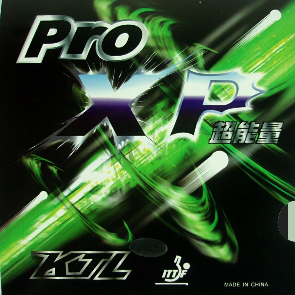 KTL Pro XP Pro-XP Pips-In ping pong goma con esponja