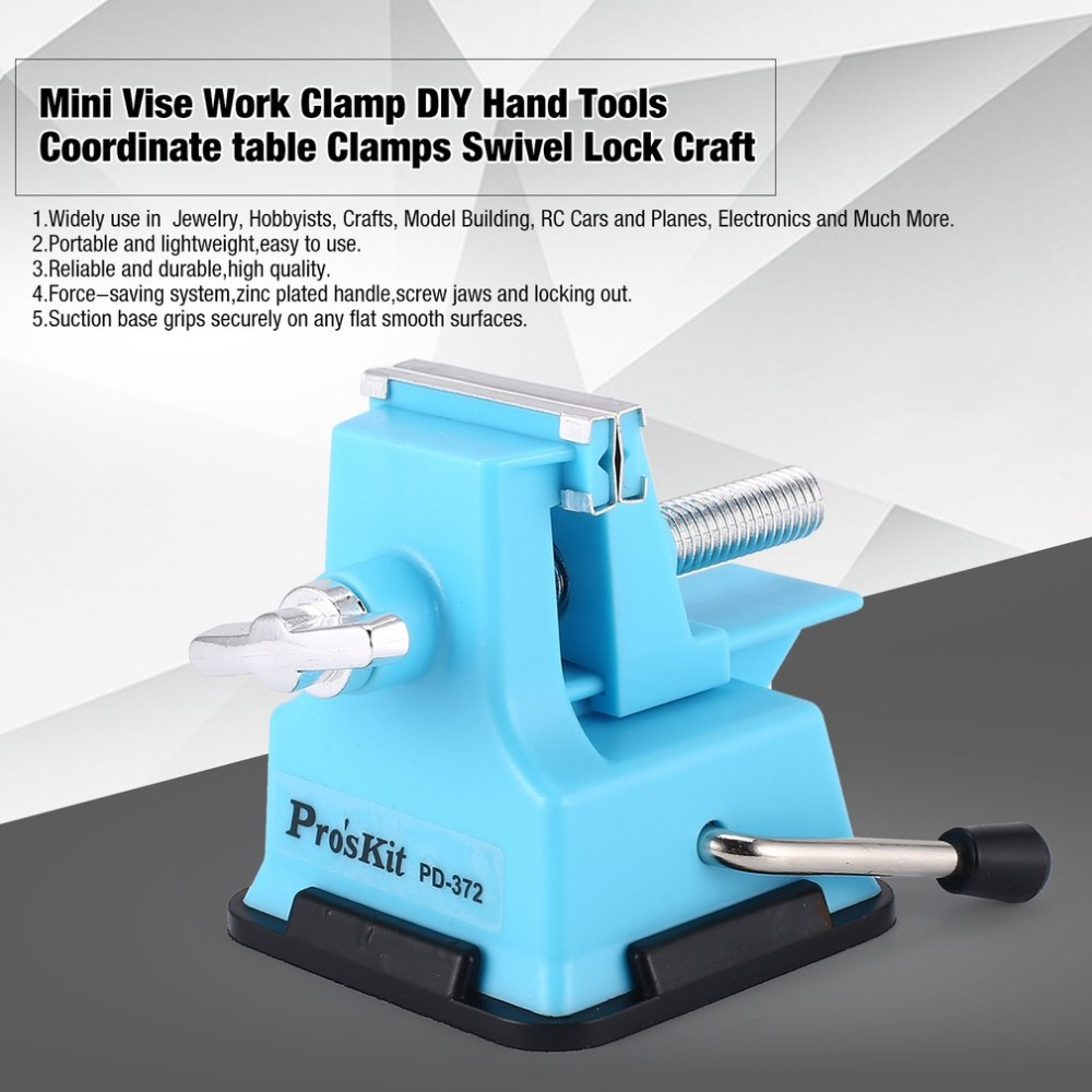 Awe Inspiring Us 9 07 35 Off Proskit Pd 372 25Mm Mini Vise Work Clamp Diy Hand Tools Coordinate Table Clamps Bench Swivel Lock Craft Jewelry Hobby Repairing In Pabps2019 Chair Design Images Pabps2019Com