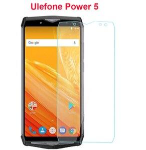 Image 2 - 2 stks Gehard Glas Voor Ulefone Power 5 explosieveilige Beschermende Screen Protector LCD Front film voor Ulefone Power 5 6.0 Glas