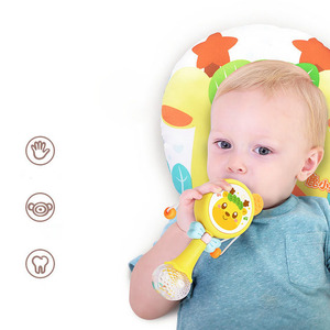 New Creative Deer Rattle Can Bite Baby Toy Light Music Molar Tooth Gel Hand Drum Baby Toys 0-12 Months  Baby Rattle Baby Toy