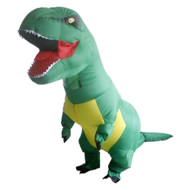 christmas gift fan inflatable costume for men kids funny christmas decorations dinosaur cosplay inflatable costume for