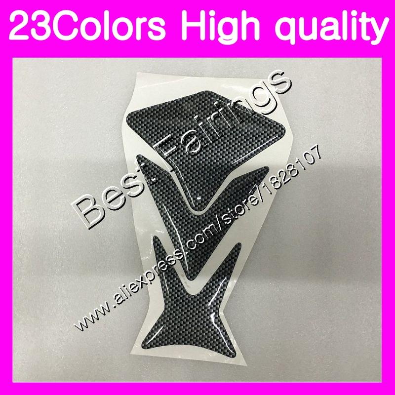 3D Carbon Fiber Tank Pad Protector For HONDA CBR125R 02 03 04 05 06 CBR 125R