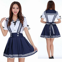 Hot sale sexy lingerie plus size blue sailor school girl babydoll dress temptation costume sexy underwear big size uniform