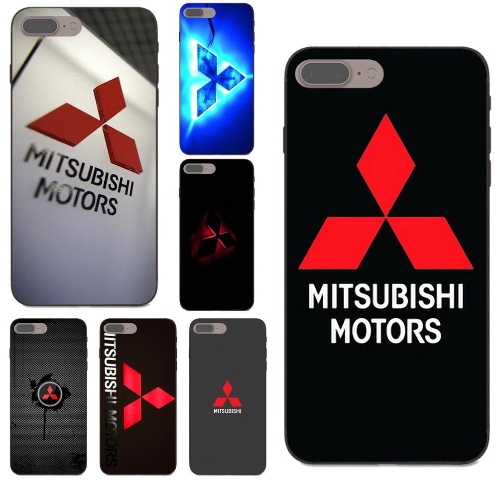 2019 New Brand For Mitsubishi Motors For Apple iPhone 4 4S 5 5S SE 6 6S 7 8 Plus X XS Max XR Soft Mobile Cases Covers