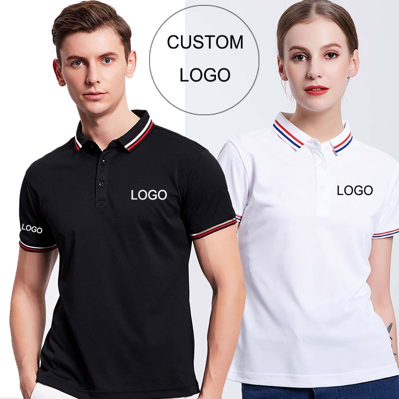Custom logo staff work uniform Embroidery/Silk Printing/Digital printing/Heat transfer sticker printing
