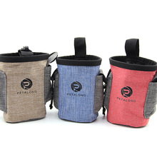 Dog Food Storage Bag Multifunctional Pet Walking Snacks Pocket Portable Bait Bags for Training Waist Holder