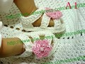 Crochet Baby Shoes, Baby girl Knitting shoes, Crochet Baby bootee cute newborn shoes