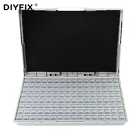 DIYFIX Enclosure SMD SMT IC Resistor Capacitor Electronics Storage Case Organizers ESD Safe Precision Component Enclosures Boxes