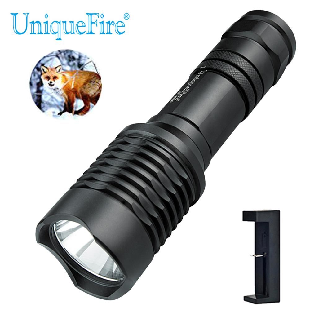 UniqueFire Flashlight Waterproof 1200 Lumen U2 LED for Aluminum 10 Watts High Power Torch Night Camping Hiking Riding