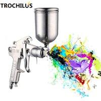 W77 Professional Pressure Pneumatic Spray Gun Multifunctional Alloy Painting Atomizer Tool Diameter 2 5mm Spray Paint