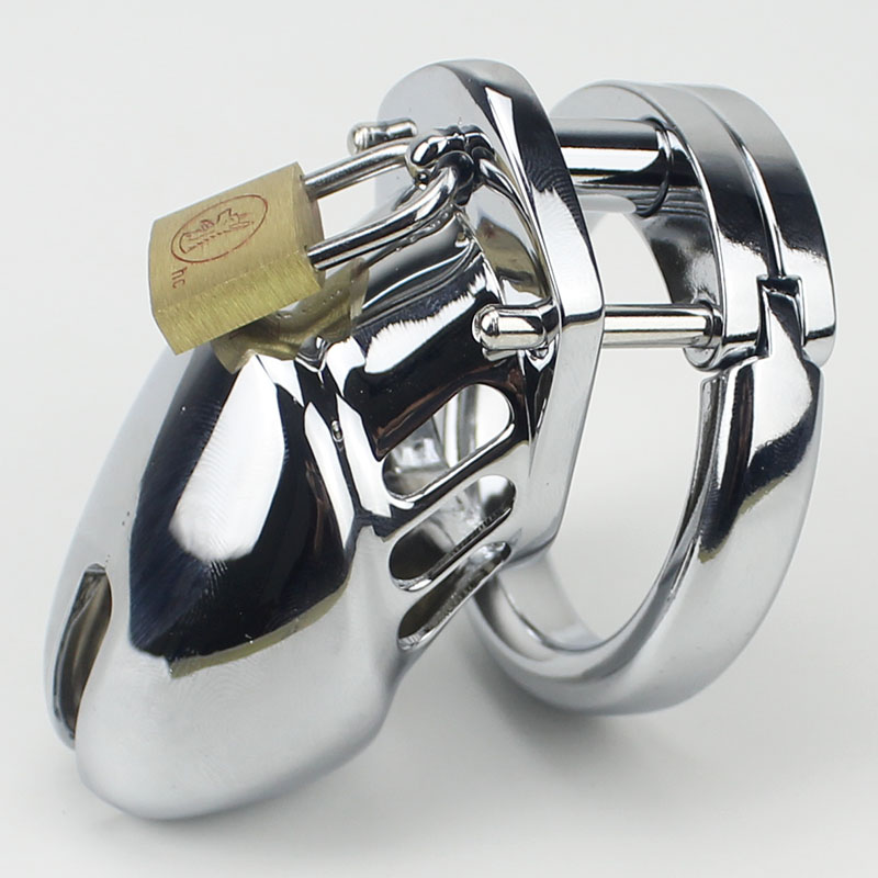 Small Male Chastity device Adult Cock Cage With Curve Cock Ring BDSM Sex Toys Bondage Man