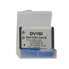 Np 45 Li 42B li 42b li42b Li 40B câmera bateria + estojo para olympus u700 u710 fe230 fe340 fe290 fe360 u1040 x915 vr320 vr330