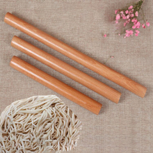 Wooden Rolling Pin Noodle Roller Pad Fondant Dough Table Dumplings Solid Wood Baking Kitchen Tool 5 Sizes #